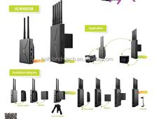Professional Wireless Video Transmission system 1TX+1RX 5GHz 3G SDI/HDMI