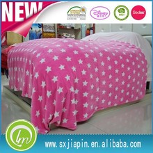 2015 China directly Factory super soft printed 100%polyesterpolar fleece / flannel /coral fleece blanket