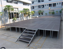 Easy install 1x2m outdoor folding concert stage sale with good price