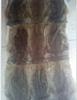 Whole Rabbit Skin Fur Rug Blanket Rabbit Plate Dyed Grey