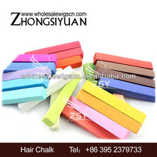 Hottest Soft Hair Color Pen/Crayons/pastel Dye Hair Stick Hair Color Chalk drawing 36colors 24colors 12colors 6colors