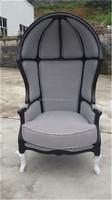 Classical high quality oak wood love sex chair with cushion