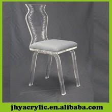 venta al por mayor transparente plexiglás silla de oficina