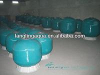 B1000 grouper fish farm or RAS fish farm sand filter