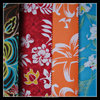 500D polyester oxford fabric with flower printing for girls bag