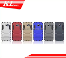 phone case tpu+pc kickstand for iphone 6 plus cover