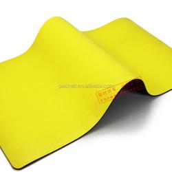 yoga mat printed,rubber yoga mat, waterproof yoga mat with bag