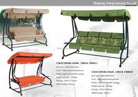 Cheap garden 3 seat swing chair ,lawn swings ,porch hammock ,swing chair outdoor furniture
