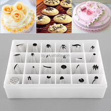 24pcs/set Cookie Cake Pastry Icing Cream Decorating Nozzle