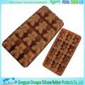 Chocolate empresa proveedor de moldes de chocolate de silicona torta de chocolate del molde