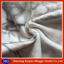 China factory wholesale print micro crochet baby blanket