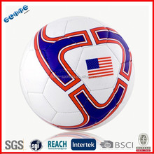 Foam back PVC soccer ball Sells Well