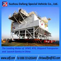 SPMT Self-propelled modular transporter, multi-axle hydraulic truck trailer for sale