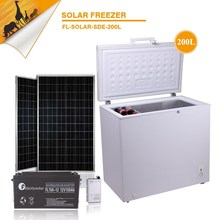 2015 guangzhou felicity 200L solar freezer home appliance complete set for sale