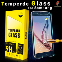 tempereed glass screen protector for iphone 4 4s 5 5c 5s 6 6 plus samsung galaxy s3 s4 s5 mini i9300 i9500 i9600 s6 edge a3 a5