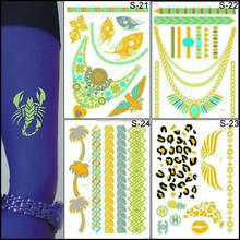 Professional Customized Glow In The Dark Body Tattoo Sticker / Glow Tattoo / Luminous Tattoo Sticker