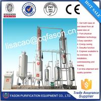 2-100 T/D energy saving engine oil regeneration system