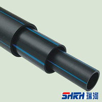Hdpe Pe100 Blue Line Water Pipe