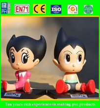 china factory custom make vinyl figure, wholesale diy vinyl toys, cartoon vinyl decorating toy