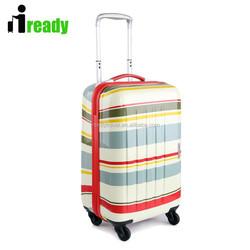 Rainbow pattern , beautiful kids school luggage , girls travel luggage