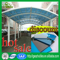 china uv blocking clear plastic roofing sheet polycarbonate panel