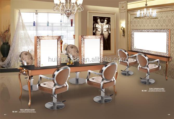 2015 vente chaude quipement de salon de coiffure miroir for Salon de coiffure miroir