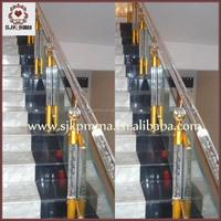 Hot Sale Clear Acrylic Stair Railing,Acrylic Wedding Columns