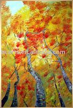 moderna del árbol paisaje pintura al óleo
