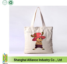 Heat sublimation printing way promotional cotton tote bag