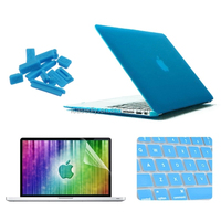 4 in 1 Frosted Hard Shell Plastic Protective Case for MacBook Air 11.6 inch