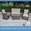 indoor outdoor garden rattan wicker sofa set outdoor furniture cushion