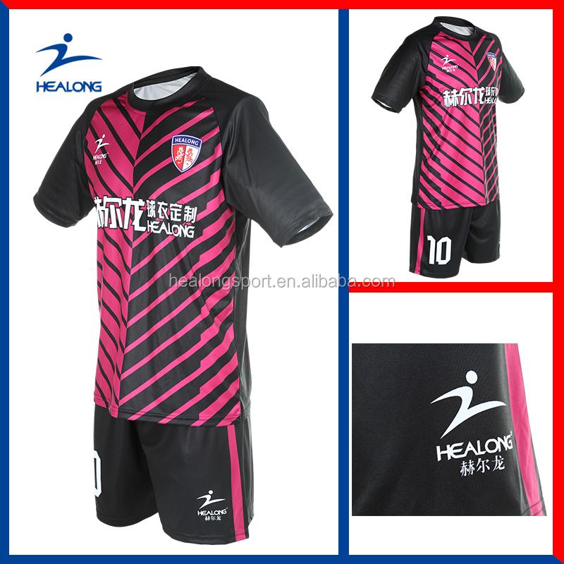 New Design Custom Sublimation Cheap Football Soccer Shirt
