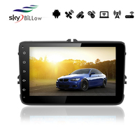 8'' capacitive touch screen android radio navigation for universal with built-in WIFI and bluetooth