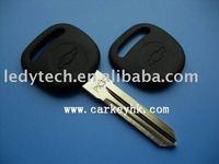 Top quality Chevrolet PK3 transponder key blank,car chip key for Chevrolet