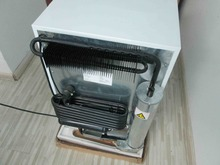 100 litres natural gas operated absorption refrigerator
