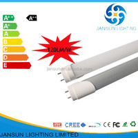 No strobe high brightness 115lm/w SMD5630 led fluorescent tube 28w 5ft led tube lighting