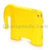 3D Cute Elephant Pattern EVA Foam Back Case for iPad 2
