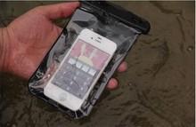 Impermeable Dry Case para el iphone 6 caso bolsa esquí para móviles