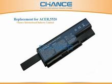 10.8V 8800mAh 12 cells Laptop battery for Acer 5520 5220 5710 5920 6530 7520 7720 8730 8920 AS07B41