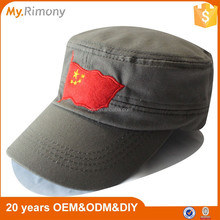 the five-starred national red flag hats new design plaid baseball hat cap
