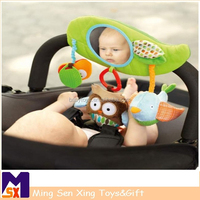 Lovely knitting toy doll for babies in high quality