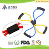 Yoga Exercise Resistance Band Stretching Fitness Tubing For Workout