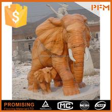 nature stone made Elephant statue for park decor