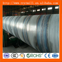 Galvanized Spiral Pipes Welded Line pipe api 5l spiral steel pipe manufacturers