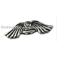 Silver Metal Bead at butterfly wing flower heart angel dragonfly animal tree shape etc