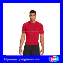 Wholesale china men t shirt 95% cotton/5% spandex bulk sport t shirt for men