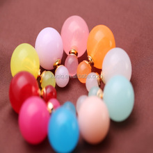 Latest Design Hot Mixed Color Double Jhumka Earrings