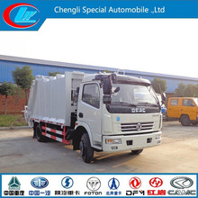 DONGFENG small compactor Truck new design light duty garbage truck small garbage truck