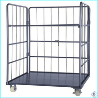 high quality roll off containers with 4 wheels for sale