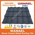 Colorido pedra de metal revestido telhado de venda direta da fábrica